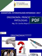 ERGONOMÍA  PATOLOGIAS