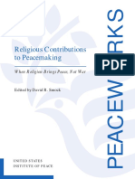 Religious Contributions to Peacemaking