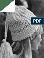 SRO Etsy - Knit Sample Stitch Stocking Cap