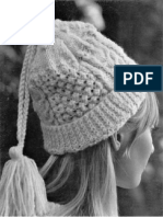 SRO Etsy - Knit Sample Stitch Stocking Cap