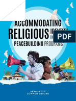 Accommodating Religious Identity in Youth Peacebuilding Programs