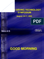 SPRAY DRYING TECHNOLOGY