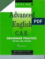Advance English CAE Grammer Practice 1