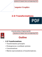 2D Transformatios