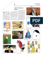 O Farelo 10 - Donald Trump no punto de mira dos caricaturistas