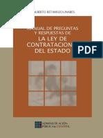282335182 Manual de Preguntas y Respuestas de La Ley de Contrataciones Del Estado Del Peru Alberto Retamozo Linares (1)