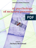 Zachary Beckstead-Cultural Psychology of Recursive Processes-Information Age Publishing (2015)