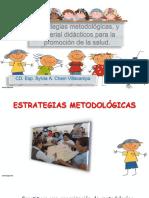 Estrategias Metodológicas, y Material Didácticos Para La Promoción de La Salud.