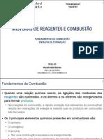 05. Termodinâmica II. Misturas de Reagentes e Combustão