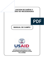 Manual de Campo Edan Usaid