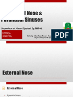 Anatomy of the Nose and Sinus