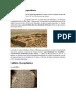 Civilización Mesopotámica