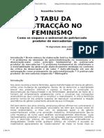 Scholz - O Tabu Da Abstração No Feminismo