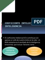 Coeficiente Intelectual e Inteligencia