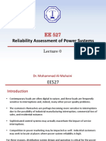 EE527- Lecture 0 ()