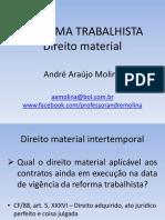 Palestra TRT23 - Reforma Trabalhista