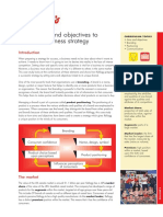 Using aims and objectives to create a business strategy -  A Kellogg's Case Study.pdf