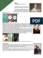 Escritores Románticos Europeos e Hispanoamericanos