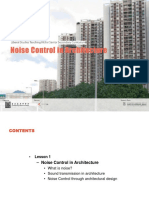 Noise Control in Architecture