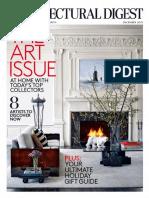 Architectural Digest - December 2015