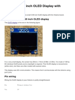 Guide for 0LED Display