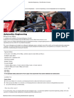 Automotive Engineering - Oxford Brookes University
