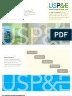 USP&E Diesel Generators Service & Maintenance Brochure