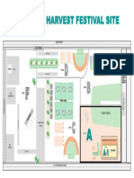 MAP Route 91 Harvest Festival Site - Area A