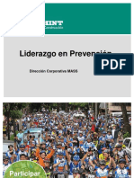 Liderazgo en Prevención, A&M, Agosto 2015, V1