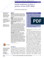 Counterfeit Medicines in Peru, A Retrospective Review (1997-2014)
