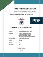 Derecho Comercial.comerciante Individual