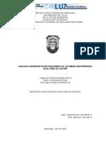 Analisis Geoquimico de Menes en Zulia