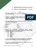 1ESO t3 Materiales Examen