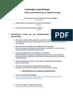 Antecedentes Historicos de La Parasitologia