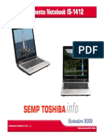 Manual de Serviço Notebook STI IS1412
