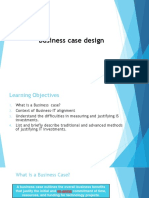 Session-2 - Designing and Building a Business Case