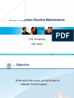 ZXUP10_¢ٍ_02_200909 ZXUP10 Routine maintenance.ppt
