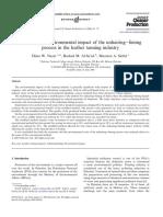 Journal of Cleaner Production Volume 14 Issue 1 2006 [Doi 10.1016%2Fj.jclepro.2005.04.002] Dima W. Nazer; Rashed M. Al-Sa'Ed; Maarten a. Siebel -- Reducing the Environmental Impact of the Unhairing–Li