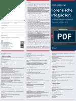 Handbuch Forensische Prognose