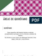 Áreas de Quirófano