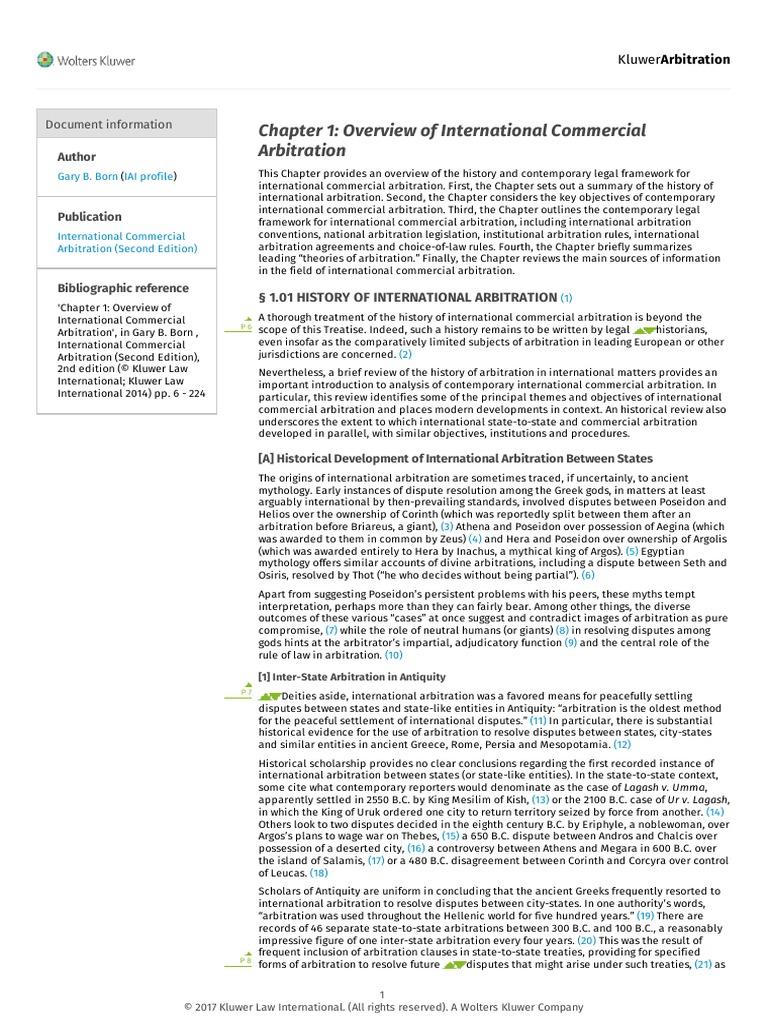 Combine PDF   Arbitration   Treaty