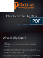 1 - Intro to Big Data