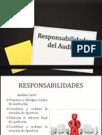 Responsabilidades Del Auditor