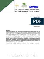 6 BARREIRAS NÃO-TARIFÁRIAS (BNT'S) E AS EXPORTAÇÕES BRASILEIRAS DE CARNE BOVINA SOB A LUZ DA ECONOMIA POLÍTICA .pdf