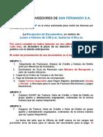 Presentación Documentos Fiscales