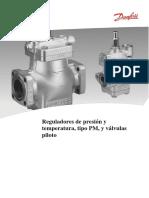 Reguladores de Presión y Temperatura Danfoss