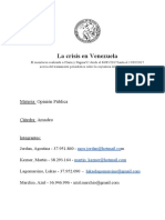 Tp OP - Venezuela