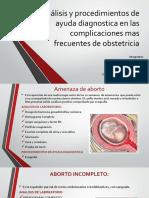 Análisis y Procedimientos de Ayuda Diagnostica TERMINADO