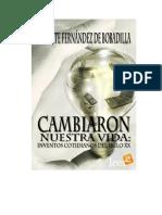 Fernandez de Bobadilla Vicente - Cambiaron Nuestra Vida Inventos Cotidianos Del Siglo XX