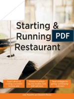 Starting and Running a Restaurant - Idiots Guides